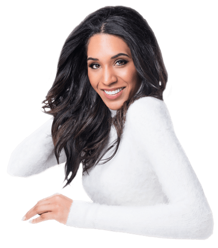 woman with beautiful smile in overland park